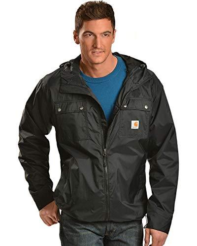 Carhartt Men's Rockford Rain Defender Jacket,Black,XX-Large