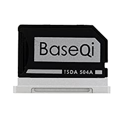 BASEQI aluminum microSD Adapter for MacBook Pro 15\