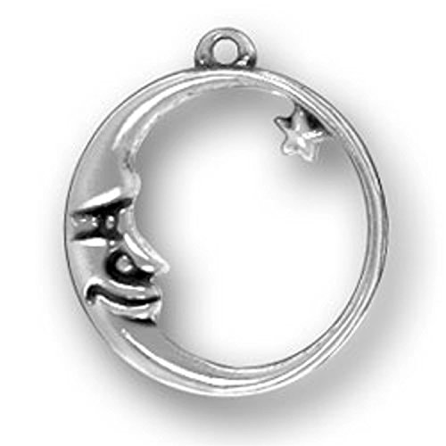 sterling-silver-20-boys-12mm-box-chain-waning-crescent-man-in-moon-mystical-star-pendant-necklace