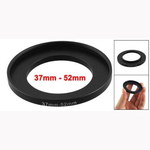TOOGOO (R) Camera Lente Filtro Step Up Anello 37 millimetri a 52 millimetri adattatore nero 008301