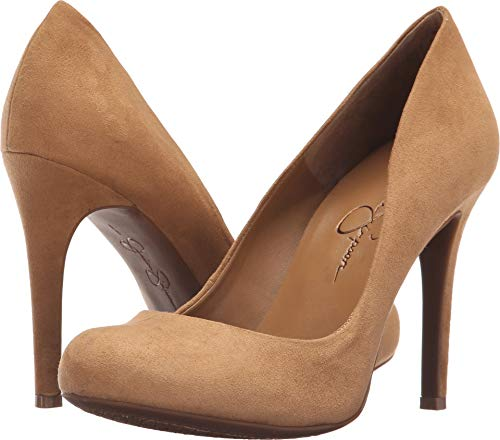 Jessica Simpson Women's Calie Pump, Honey Brown, 6.5 M ()