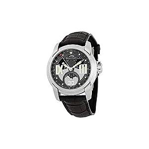 Best Epic Trends 41IzkDWgbgL._SS300_ Blancpain L-Evolution Grey Dial Black Crocodile Leather Mens Watch 8866-1134-53B