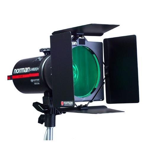 Norman BD-45 4-Leaf Barndoor Set for all 5'' Reflectors.