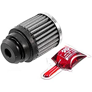 Flange ID; 2.5 in Height; 3 in Base; 3 in 76 mm Top 32 mm K/&N 62-1512 Vent Air Filter // Breather: Vent Air Filter// Breather; 1.25 in 64 mm 76 mm