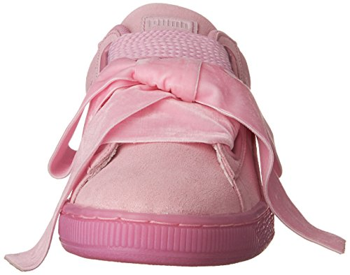 Puma Dames Suede Heart Reset Wns Mode Sneaker Prisma Roze-prisma Roze