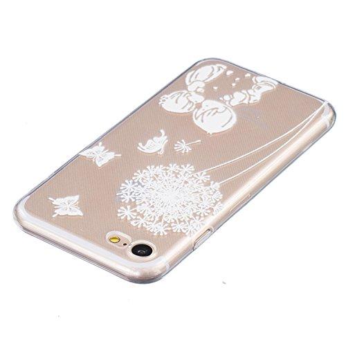 Voguecase® für Apple iPhone 7 hülle, Schutzhülle / Case / Cover / Hülle / TPU Gel Skin (Klein Liebhaber 04) + Gratis Universal Eingabestift