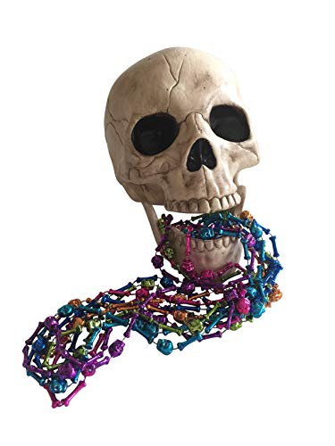Skull Mardi Gras Beads - Mardi Gras Beads Bundle with Skull