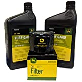 John Deere Original Equipment Oil Change Kit - (2) TY22029 + AM125424