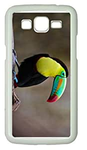 cases personalizeColored Toucan PC White case/cover for Samsung Galaxy Grand 2/7106