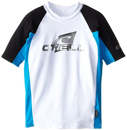 O'Neill Wetsuits UV Sun Protection Youth Skins Short Sleeve Crew Rashguard