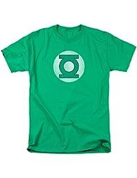 Green Lantern Distressed Logo Adult T-Shirt - Green