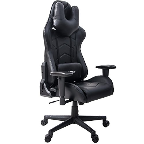 41IzmegzqgL - Merax-U-Knight-Series-Racing-Style-Gaming-Chair-Ergonomic-High-Back-PU-Leather