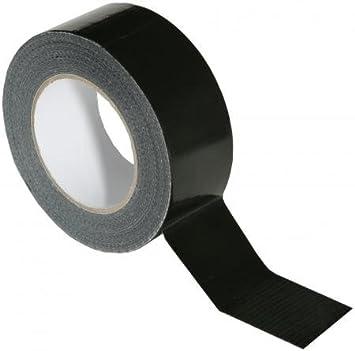 Gewebeband schwarz 50mm x 50m Klebeband Extrem stark