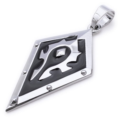 Kstyle Jewelry Cool Shield Mens Pendant Necklac