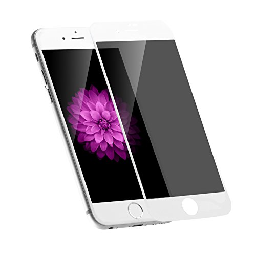 iPhone 8 / 7 Privacy Screen Protector, KSWNG iPhone 8 Screen Protector Anti-Spy Tempered Glass Screen 9H Premium Anti-Scratch/Fingerprint well-wreapped