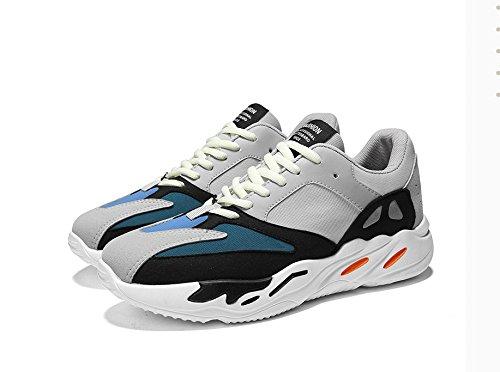 ZHANGRONG-- Zapatillas para correr para hombres - Zapatos ocasionales transpirables, Zapatos cómodos para caminar, Zapatos para hombres duraderos - Calzado para uso diario ( Color : B , Tamaño : EU39/ A