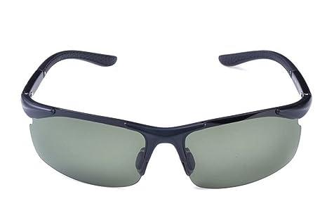 DZW Gafas de Sol polarizadas imitación de Aluminio magnésio ...