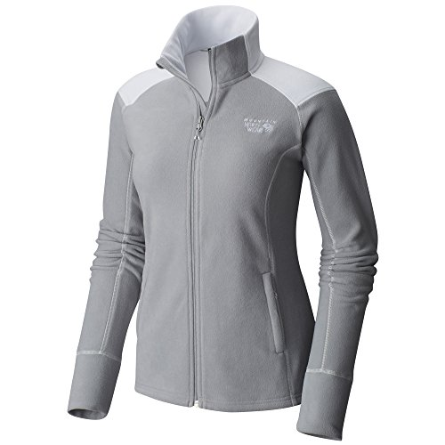 Mountain Hardwear MicroChill 2.0 Jacket - Women's Steam Medium - Mountain Hardwear Womens Fleece