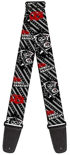 Sons of Anarchy Theme Nylon Guitar Strap -