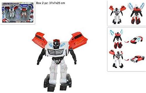 Juego 2 Robot TNF Transformer coche Juegos Juguete Idea regalo # AG17: Amazon.es: Hogar