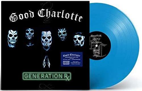 Good Charlotte - Generation Rx (Exclusive Limited Edition Transparent Blue Vinyl)