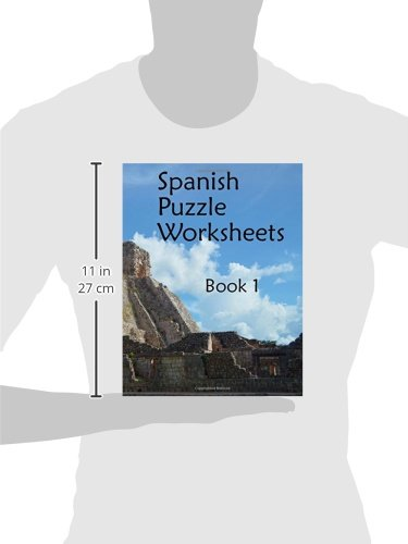 Spanish Puzzle Worksheets: Book 1 (Printable Spanish): Fran Lafferty ...