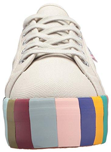Superga Cot14colorsfoxingw 2790 Sneaker Platinum Women's wPXq6XYR