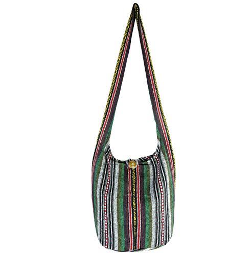 Aztec Yoga Bag Shoulder Crossbody Sling Medium (Margarita Green)