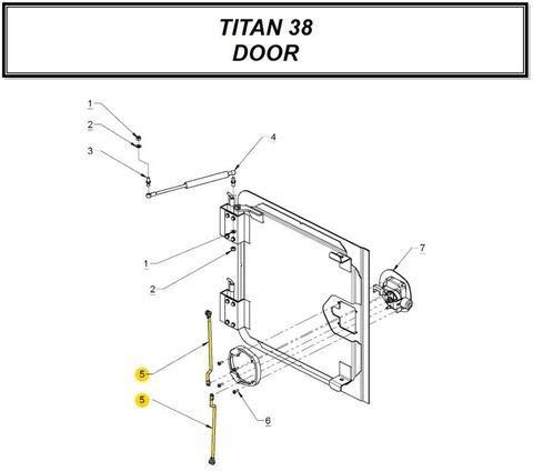 Amazon Com Auto Crane Hose Guide 4 Roller A Automotive