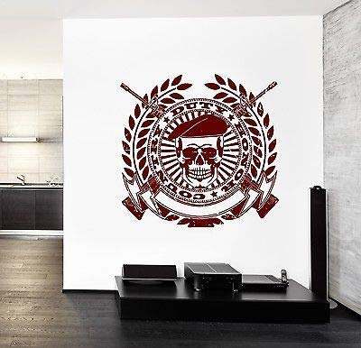 Wall Vinyl Army Soldier Honor Duty GuaranteFF Quality Decal z3461 by Fashion Vinyl Factory