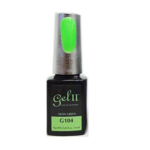 Gel II Soak-Off Gel Polish, Neon Green, 0.47 Ounce