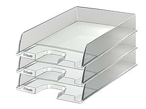 Esselte Group Europost - Bandeja para documentos (10 unidades), color transparente