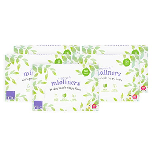 Bambino Mio, Supersoft Mioliners (Diaper Liners), 5 Pack (Mio Liners Bambino)