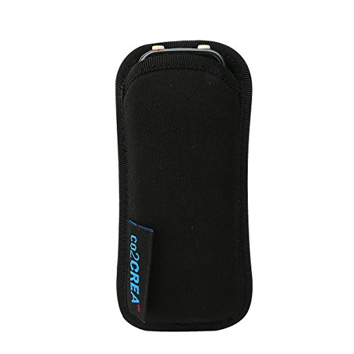 for Sony ICD PX333 PX440/Olympus Voice Trek VN-7200 Digital Voice Recorder Soft Storage Travel Carrying Case Sleeve by co2CREA