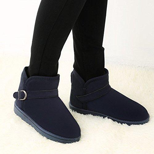 AGECC  Damen Damen Winter Winterstiefel Winterstiefel Damenstiefel Kurze Kanisterstiefel EIN Student Winterstiefel Schuhe Schuhe Slip Warme Gezeitenliebhaber Viel Glück für Sie