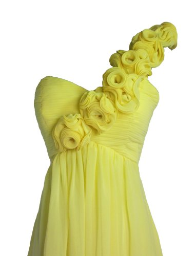 Damen Kleid Gelb Fashion Y Alivila 7pxUEE