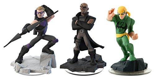 Disney Infinity 2.0: Hawkeye / Nick Fury / Iron Fist (3-Pack) (Toy) Nintendo Wii Iron