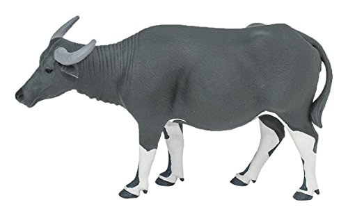 Safari Ltd. Carabao - Realistic Hand Painted Toy Figurine Model - Quality Construction from Phthalate, Lead and BPA Free Materials - for Ages 3 and Up ()