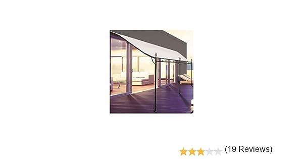 ProBache - Pérgola adosada para terraza (3 x 4 m): Amazon.es: Bricolaje y herramientas