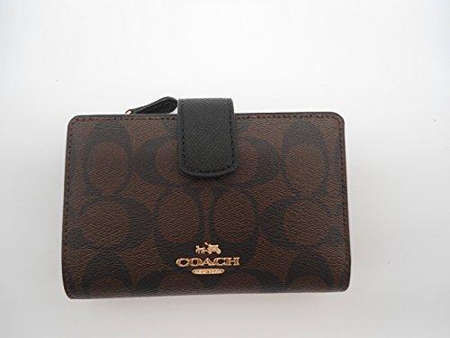 Coach Signature Medium Corner Wallet