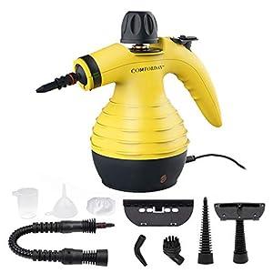 Comforday Limpiador Vapor Mano, Limpiador de Vapor Portátil de Usos Múltiples con 9 Accesorios para Quitar Manchas… 41IztcqcIdL