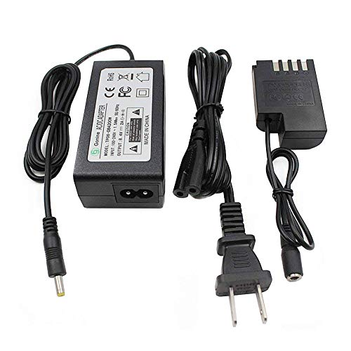 DMW-DCC12 DMW-AC8 AC Power Adapter Gonine DC Coupler Charger Kit Compatible with PANASONIC BLF-19 Battery LUMIX DMC-GH3 DMC-GH4 DMC-GH3K DMC-GH4K DC-GH5 and Sigma SDQ SDQH Digital Camera.