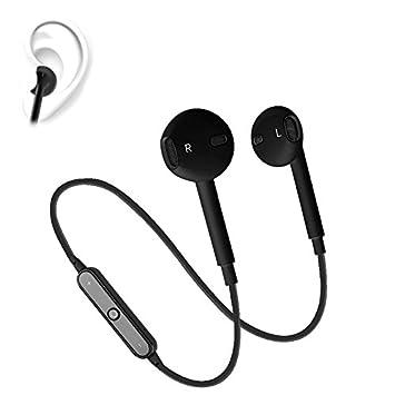 Zsjijia Auriculares inalámbricos Bluetooth deportes, auriculares deportivos a prueba de agua con micrófono para correr entrenamientos cómodos auriculares, ...
