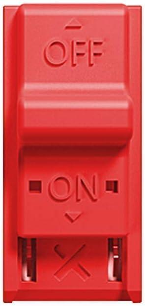 Herramientas de Cortocircuito RCM Clip para Nintendo Switch Joycon Jig Dongle no versión 3D-Impresa de Mejor Calidad (Rojo)