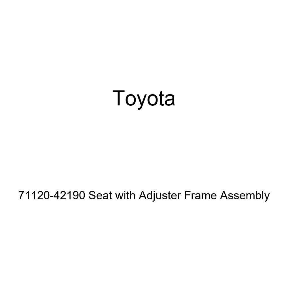 TOYOTA 71120-42190 Seat with Adjuster Frame Assembly