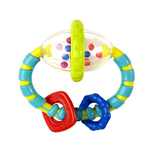 41IzwFGtYML - Bright Starts Grab and Spin Rattle