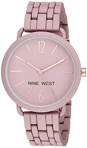 - Nine West Women's Quartz Metal and Alloy Dress Watch, Color:Purple