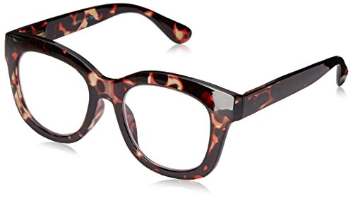 Peepers Women's Center Stage 2300150 Oval Reading Glasses, Tortoise, 1.5