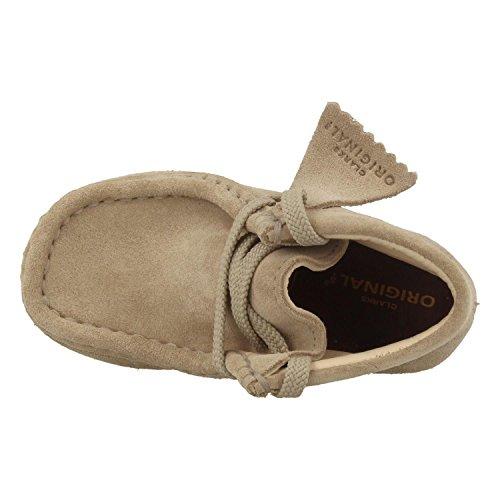 Clarks Schuhe 26.133.897 Wallabee Beige