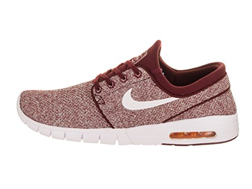 cheap sale 100% original discount enjoy Nike Men's Stefan Janoski Max Dark Team Red/White Sneakers - 10 D(M) US 33yCWA11C7